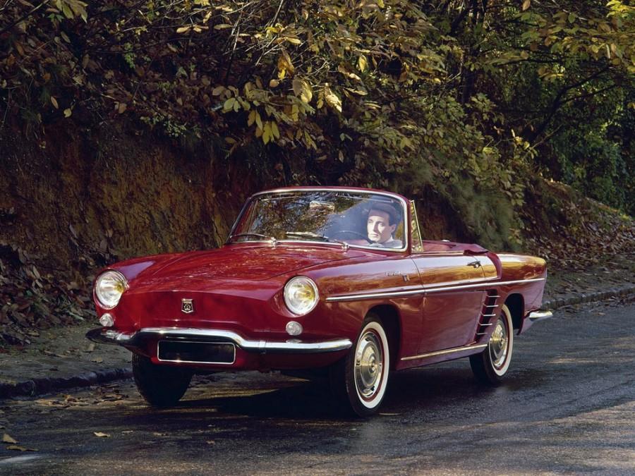 Renault Floride кабриолет, 1 поколение - отзывы, фото и характеристики на Car.ru
