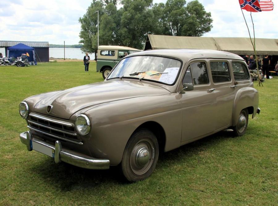 Renault Fregate Domaine универсал, 1951–1955, 1 поколение - отзывы, фото и характеристики на Car.ru