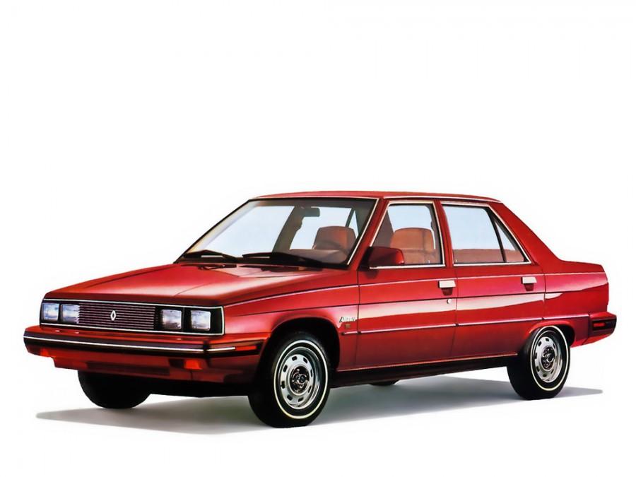 Renault Alliance седан 4-дв., 1 поколение - отзывы, фото и характеристики на Car.ru
