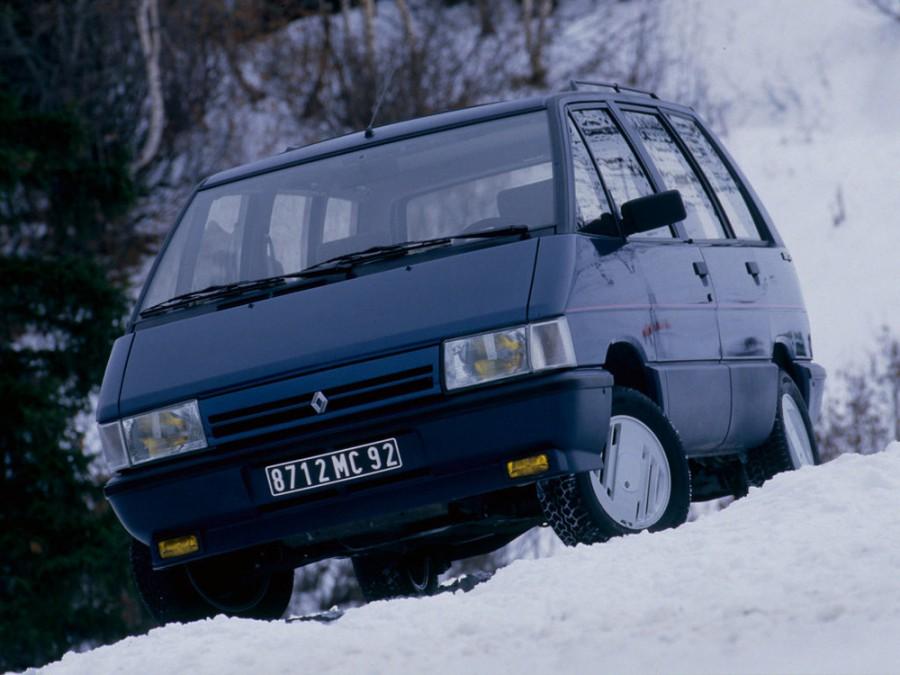 Renault Espace минивэн, 1988–1991, 1 поколение [рестайлинг] - отзывы, фото и характеристики на Car.ru