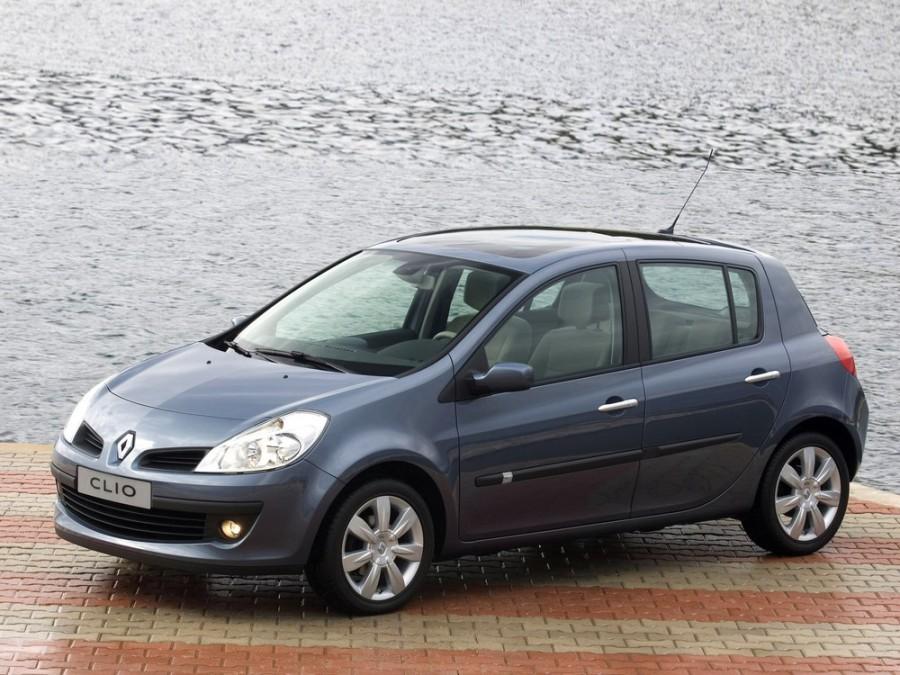 Renault Clio хетчбэк 5-дв., 2005–2009, 3 поколение - отзывы, фото и характеристики на Car.ru