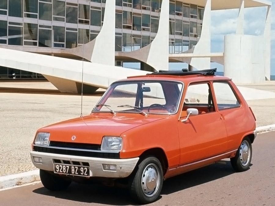 Renault 5 хетчбэк 3-дв., 1972–1985, 1 поколение - отзывы, фото и характеристики на Car.ru