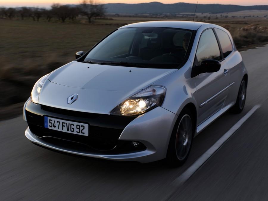 Renault Clio RS хетчбэк 3-дв., 2009–2012, 3 поколение [рестайлинг] - отзывы, фото и характеристики на Car.ru