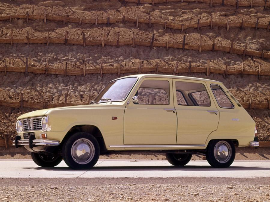 Renault 6 хетчбэк, 1968–1974, 1 поколение - отзывы, фото и характеристики на Car.ru