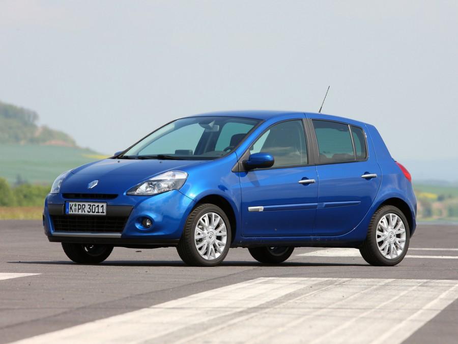 Renault Clio хетчбэк 5-дв., 2009–2012, 3 поколение [рестайлинг] - отзывы, фото и характеристики на Car.ru
