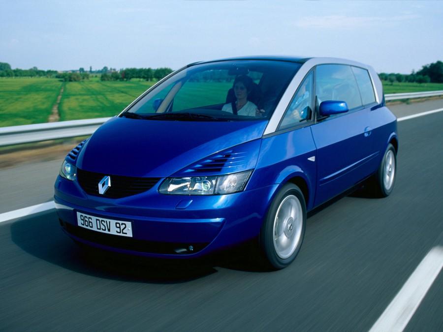 Renault Avantime минивэн, 2001–2003, 1 поколение - отзывы, фото и характеристики на Car.ru