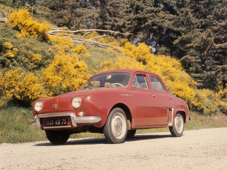 Renault Dauphine седан, 1 поколение - отзывы, фото и характеристики на Car.ru