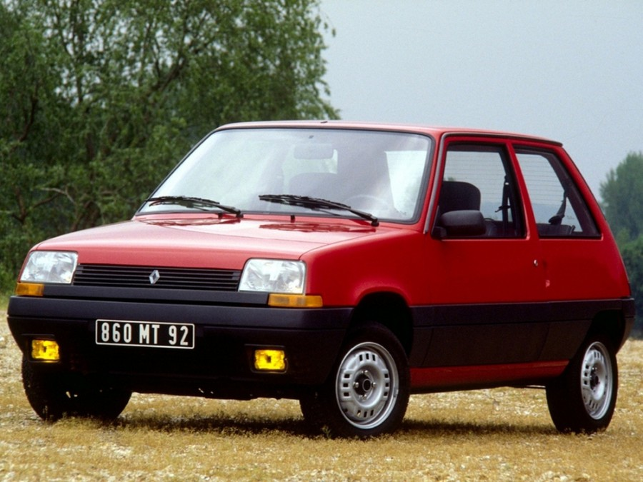Renault 5 хетчбэк 3-дв., 1984–1988, Supercinq - отзывы, фото и характеристики на Car.ru