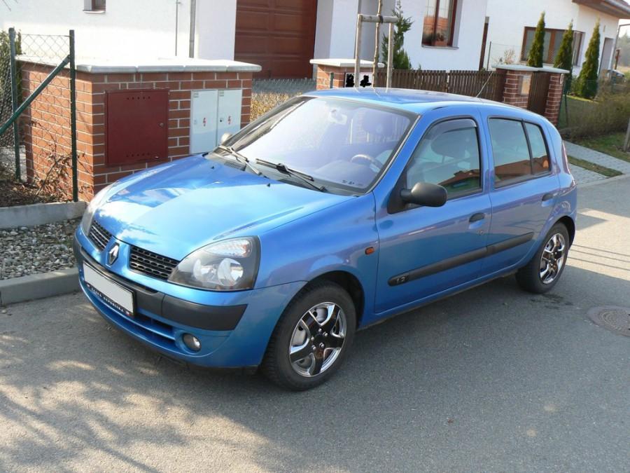 Renault Clio хетчбэк 5-дв., 2001–2005, 2 поколение [рестайлинг] - отзывы, фото и характеристики на Car.ru