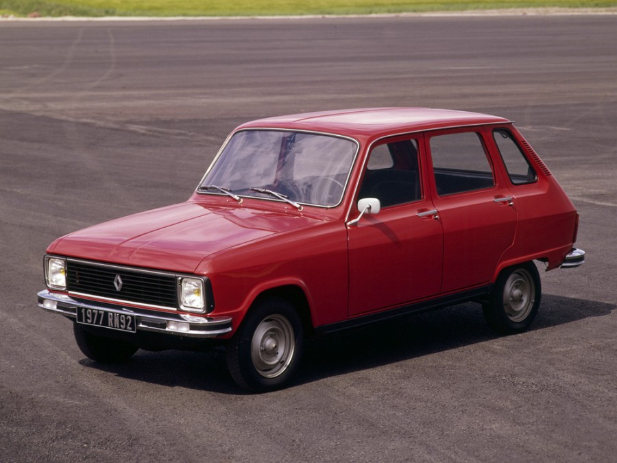 Renault 6 хетчбэк, 1974–1980, 1 поколение [рестайлинг] - отзывы, фото и характеристики на Car.ru