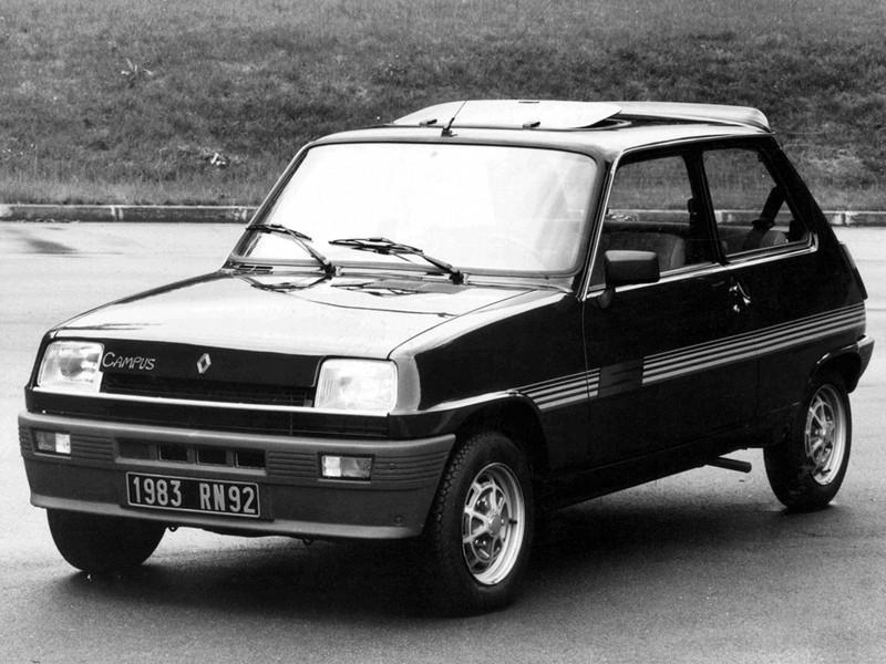 Renault 5 Campus хетчбэк 3-дв., 1972–1985, 1 поколение - отзывы, фото и характеристики на Car.ru