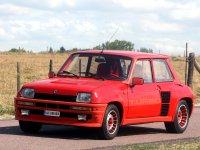Renault 5, 1 поколение, Turbo хетчбэк 3-дв., 1972–1985