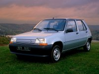 Renault 5, Supercinq [рестайлинг], Хетчбэк 5-дв., 1987–1996