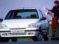 Renault Clio, 1 поколение [рестайлинг], Хетчбэк 3-дв., 1996–1998