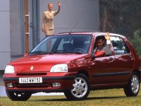 Renault Clio, 1 поколение [рестайлинг], Хетчбэк 5-дв., 1996–1998