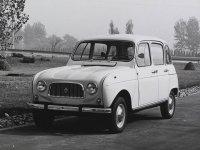 Renault 4, 1 поколение, Хетчбэк