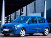 Renault Clio, 2 поколение [рестайлинг], Хетчбэк 3-дв., 2001–2005