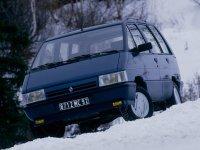 Renault Espace, 1 поколение [рестайлинг], Минивэн, 1988–1991