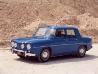 Renault 8, 1 поколение, Gordini седан 4-дв., 1962–1973