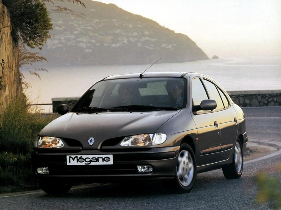 Renault Megane Classic седан, 1995–1999, 1 поколение - отзывы, фото и характеристики на Car.ru