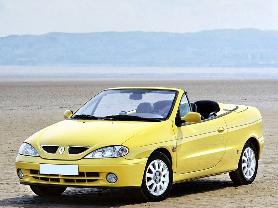 Renault Megane кабриолет, 1999–2010, 1 поколение [рестайлинг] - отзывы, фото и характеристики на Car.ru