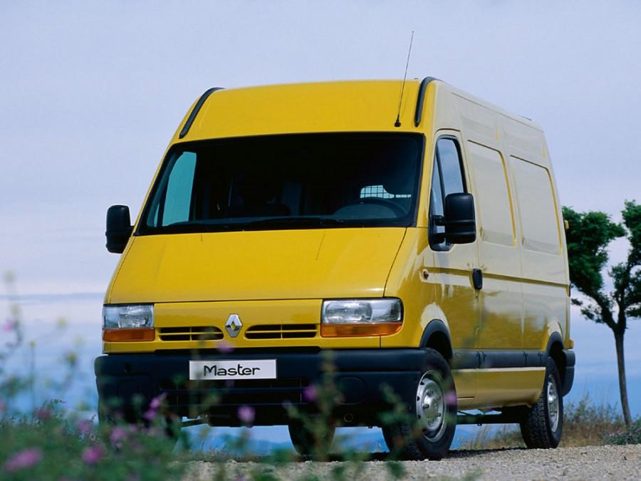 Renault Master фургон, 1998–2003, 2 поколение - отзывы, фото и характеристики на Car.ru
