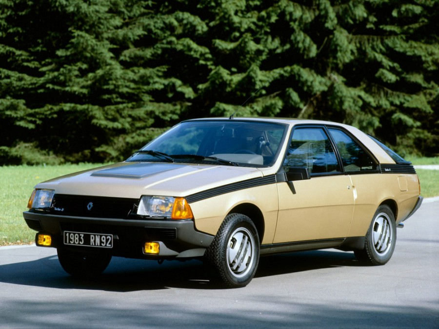 Renault Fuego купе, 1980–1985, 1 поколение - отзывы, фото и характеристики на Car.ru