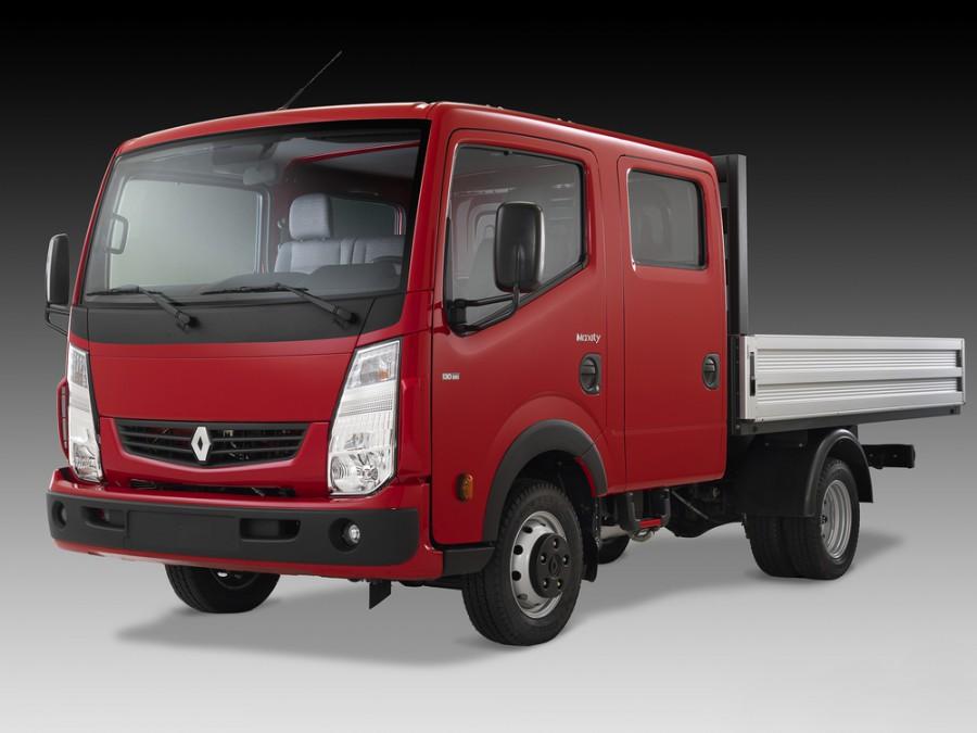 Renault Maxity борт 4-дв., 2007–2016, 1 поколение - отзывы, фото и характеристики на Car.ru
