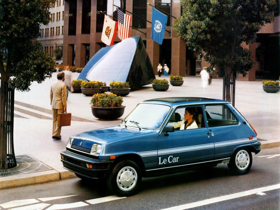 Renault Le Car хетчбэк, 1980–1984, 1 поколение [рестайлинг] - отзывы, фото и характеристики на Car.ru