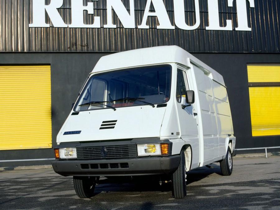 Renault Master фургон, 1980–1994, 1 поколение - отзывы, фото и характеристики на Car.ru