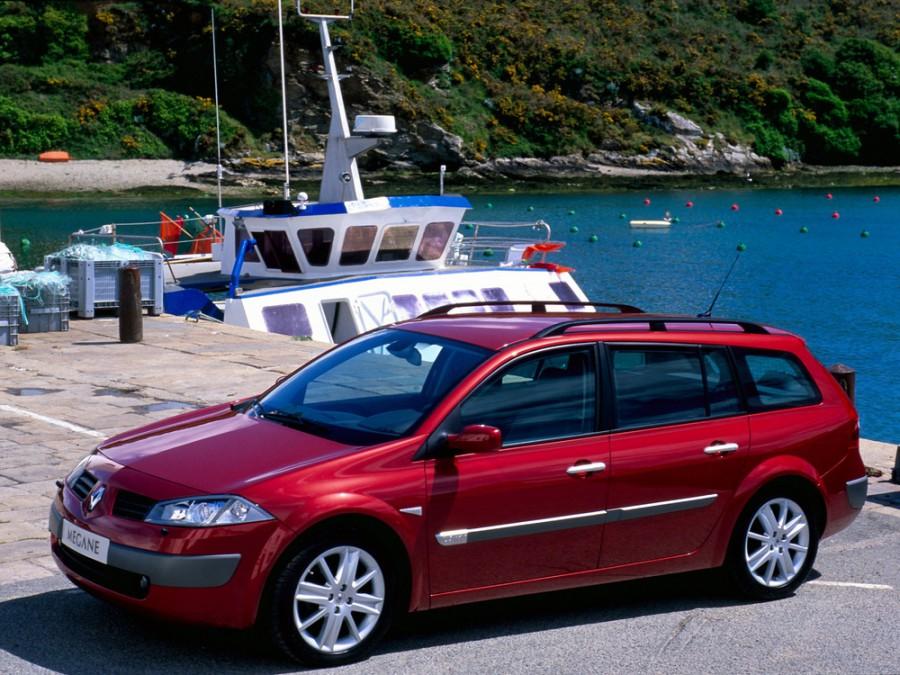 Renault Megane универсал, 2002–2006, 2 поколение - отзывы, фото и характеристики на Car.ru