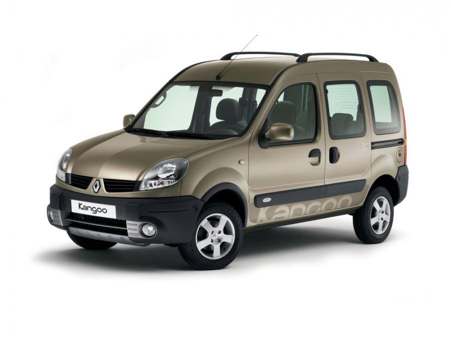 Renault Kangoo Passenger минивэн, 2003–2007, 1 поколение [рестайлинг] - отзывы, фото и характеристики на Car.ru