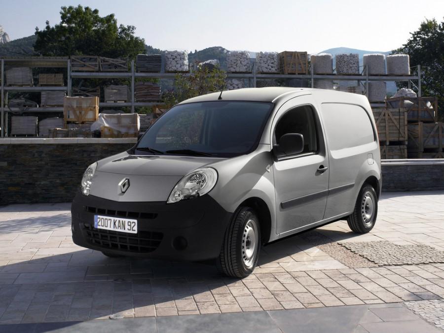 Renault Kangoo фургон, 2007–2013, 2 поколение - отзывы, фото и характеристики на Car.ru
