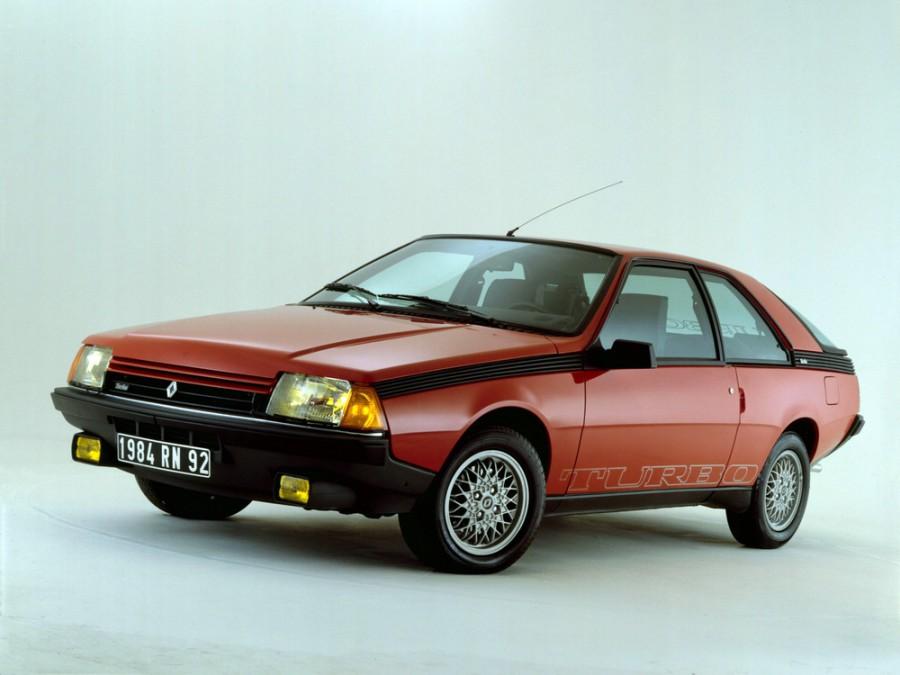 Renault Fuego купе, 1984–1989, 1 поколение [рестайлинг] - отзывы, фото и характеристики на Car.ru
