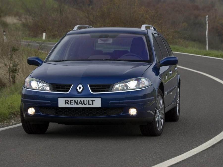 Renault Laguna Grandtour универсал, 2005–2007, 2 поколение [рестайлинг] - отзывы, фото и характеристики на Car.ru