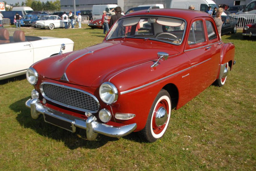 Renault Fregate седан, 1958–1960, 1 поколение [2-й рестайлинг] - отзывы, фото и характеристики на Car.ru