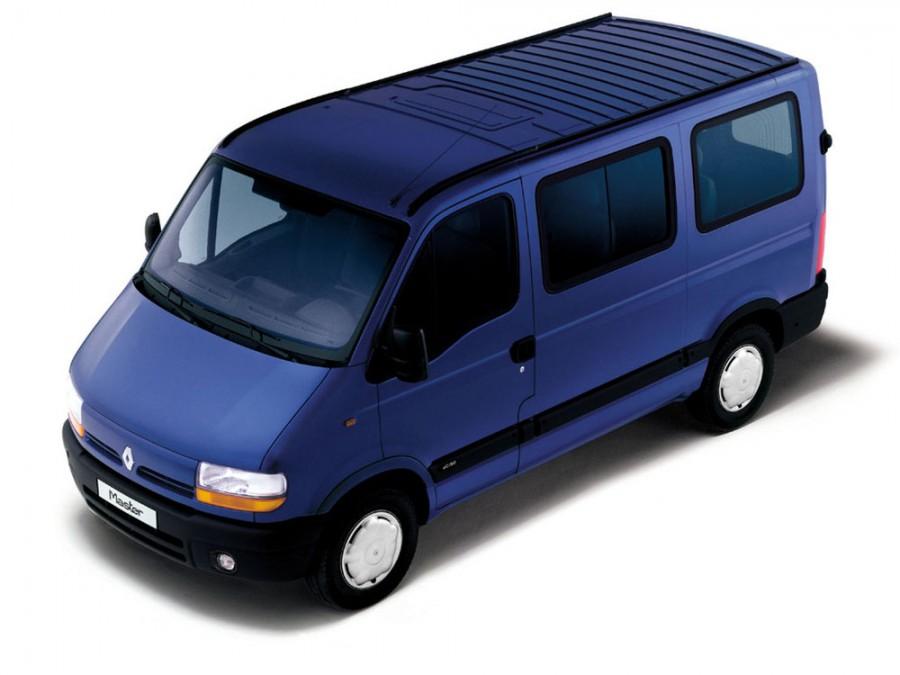 Renault Master микроавтобус, 1998–2003, 2 поколение - отзывы, фото и характеристики на Car.ru