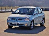Renault Logan, 1 поколение, Седан, 2004–2009