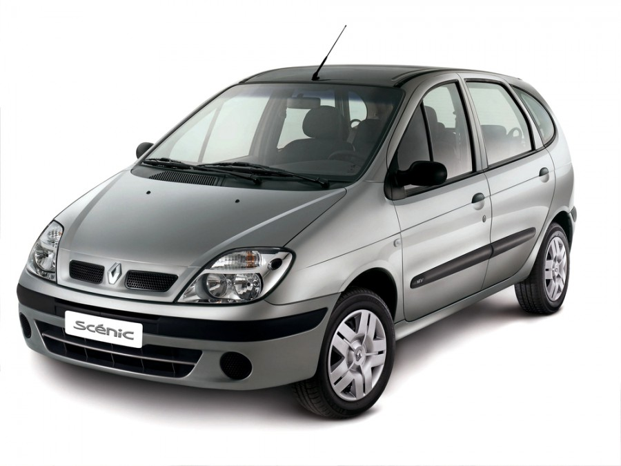 Renault Scenic минивэн 5-дв., 1999–2003, 1 поколение [рестайлинг] - отзывы, фото и характеристики на Car.ru