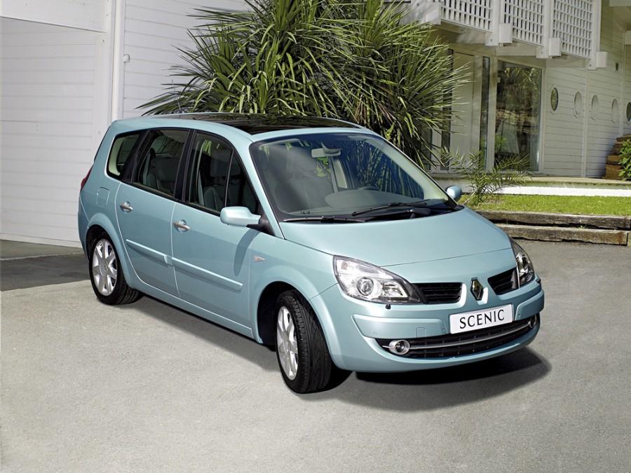 Renault Scenic Grand минивэн 5-дв., 2006–2010, 2 поколение [рестайлинг] - отзывы, фото и характеристики на Car.ru