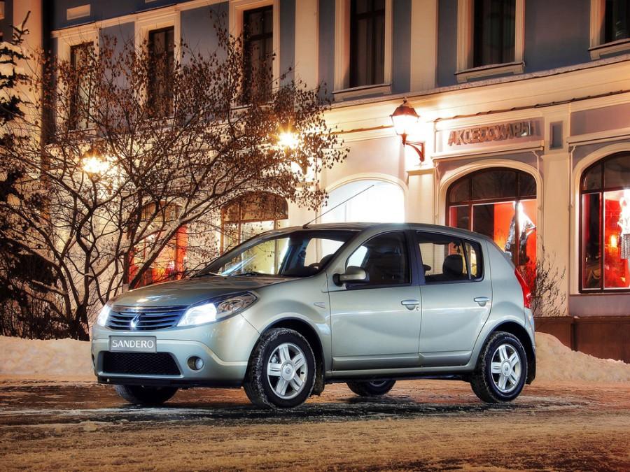 Renault Sandero хетчбэк 5-дв., 2009–2014, 1 поколение - отзывы, фото и характеристики на Car.ru