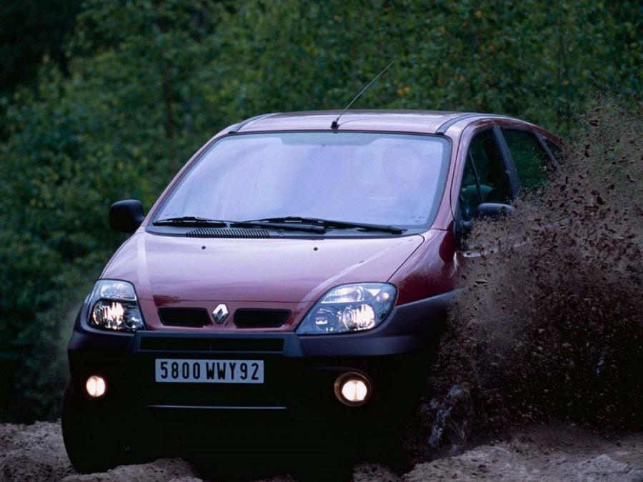 Renault Scenic RX4 минивэн 5-дв., 1999–2003, 1 поколение [рестайлинг] - отзывы, фото и характеристики на Car.ru