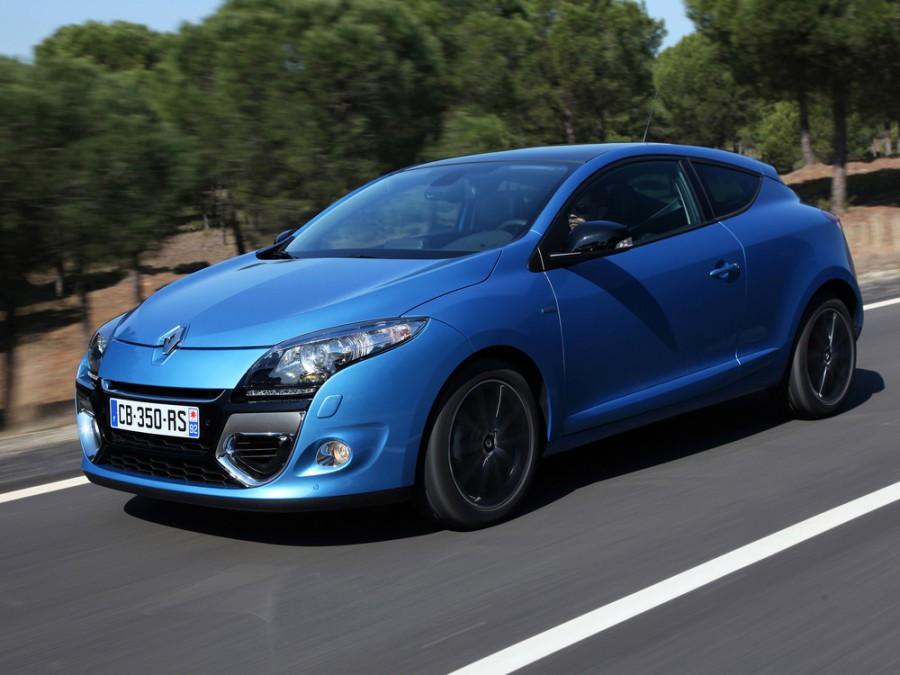 Renault Megane Coupe хетчбэк 3-дв., 2012–2016, 3 поколение [рестайлинг] - отзывы, фото и характеристики на Car.ru