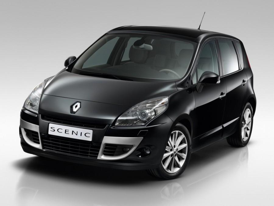 Renault Scenic минивэн 5-дв., 2009–2012, 3 поколение - отзывы, фото и характеристики на Car.ru