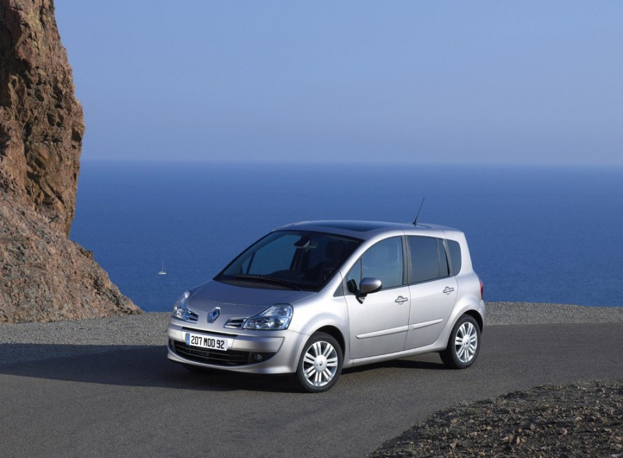 Renault Modus Grand минивэн 5-дв., 2007–2012, 2 поколение - отзывы, фото и характеристики на Car.ru
