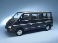 Renault Trafic, 1 поколение [рестайлинг], Микроавтобус, 1989–1997