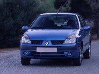 Renault Symbol, 1 поколение [рестайлинг], Седан, 2002–2005
