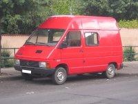 Renault Trafic, 1 поколение, Фургон, 1981–1989