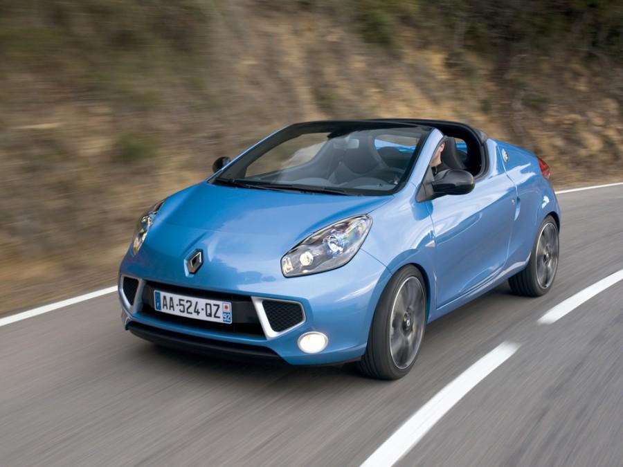 Renault Wind родстер, 2010–2016, 1 поколение - отзывы, фото и характеристики на Car.ru