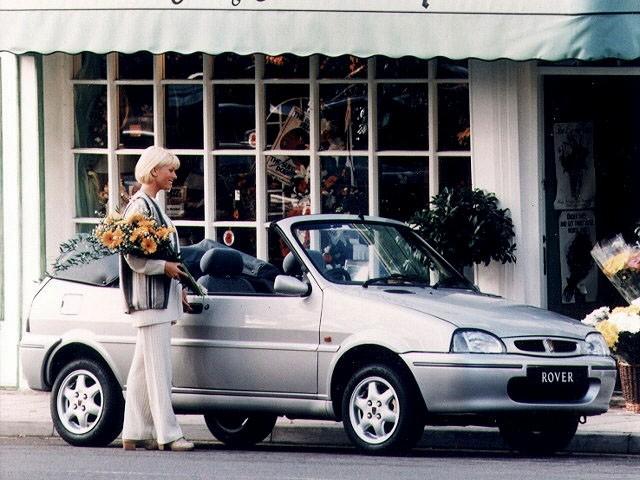 Rover 100 кабриолет, 1990–2000, 1 поколение - отзывы, фото и характеристики на Car.ru